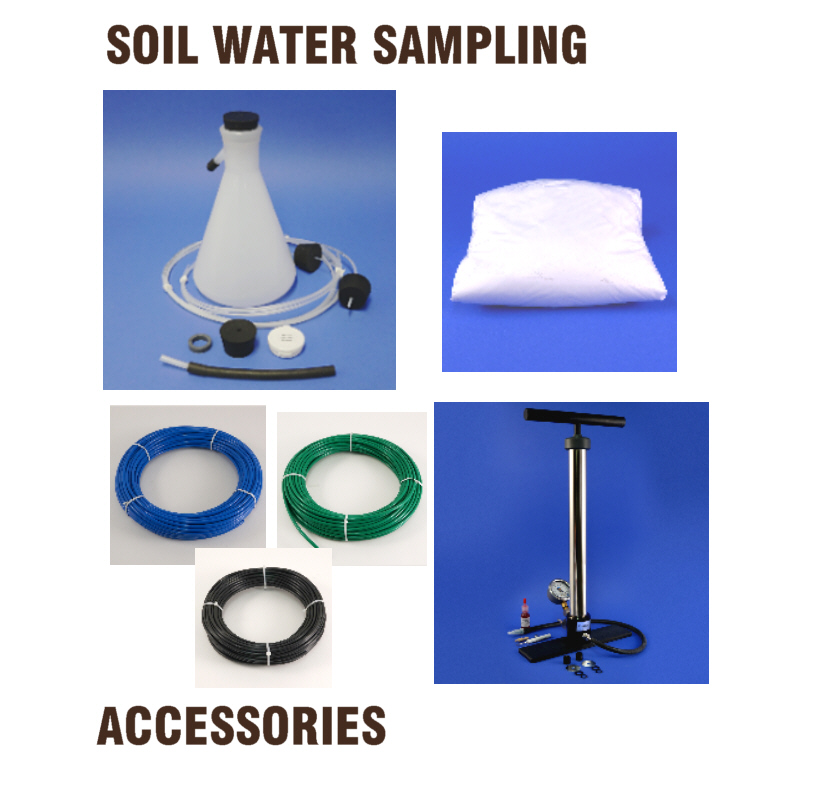 Soil Water Sampler Accessory Items