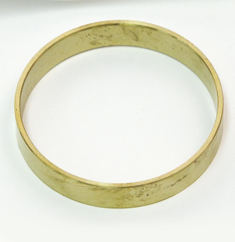 CORE SAMPLER GUARD RING,  BRASS, 1 CM, FOR 0200 CORE SAMPLER
