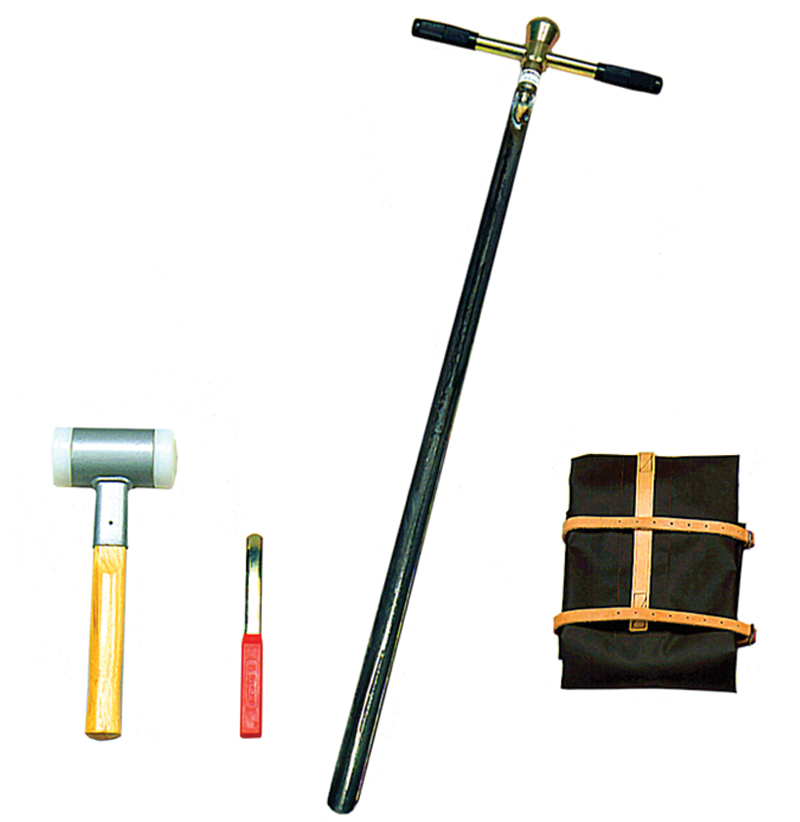 GOUGE AUGER KIT, HARD STONY SOILS, UP TO 1 M
