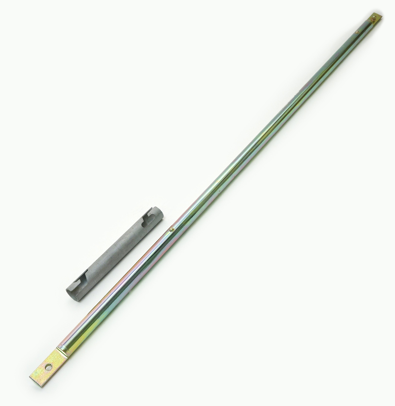 AUGER EXTENSION ROD,  BAYONET CONNECTION,  100 CM