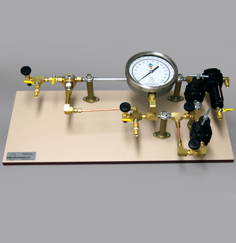 PRESSURE REGULATING SYSTEM (MANIFOLD) TO RUN 1000 EXTRACTOR