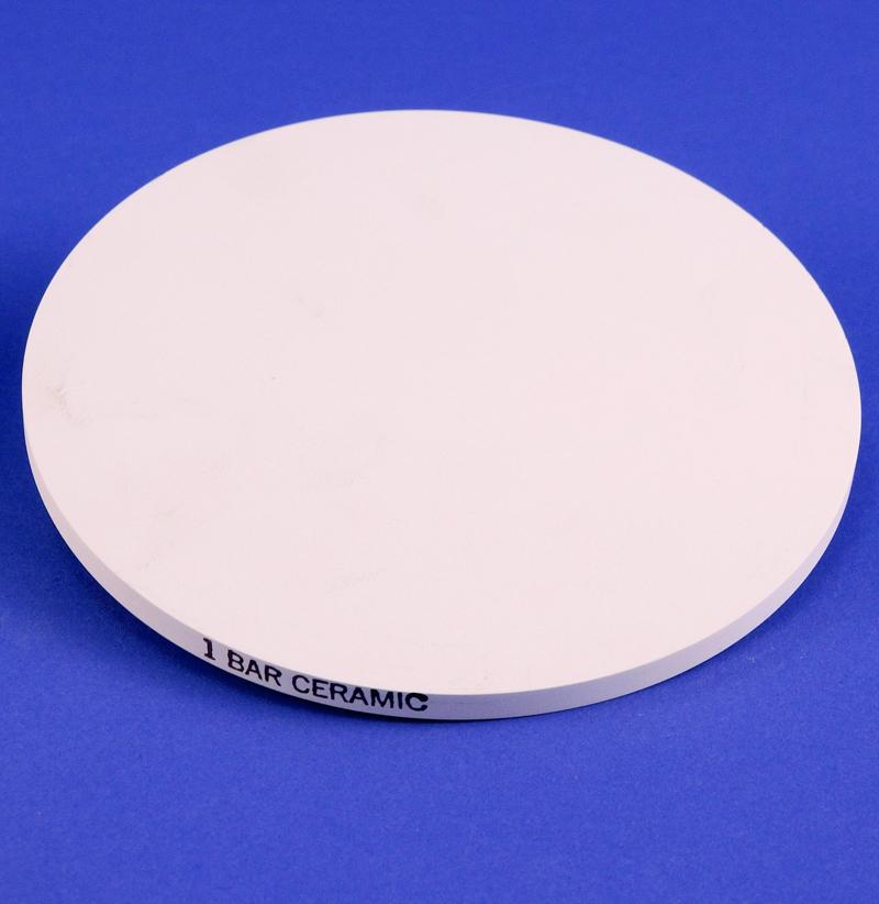 POROUS CERAMIC PLATE, 1 BAR STANDARD