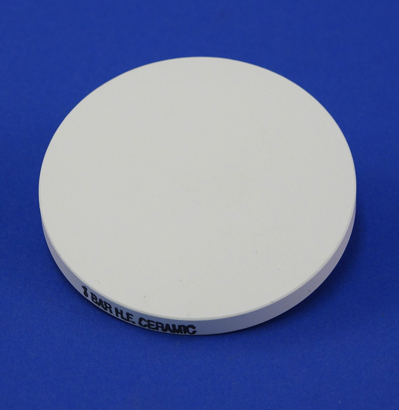 "1 BAR HI FLOW POROUS CERAMIC PLATE,  2-1/4"" DIAM., FOR 1400 TEMPE CELL"
