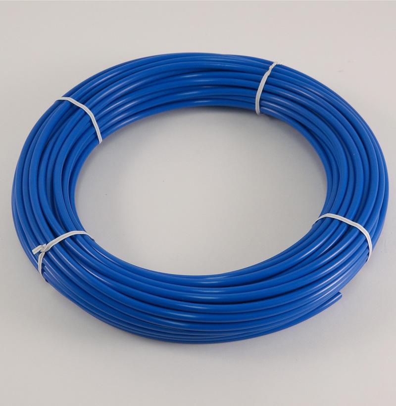 "BLUE POLYETHYLENE TUBING, 1/4"" O.D., 100 FT. ROLL"
