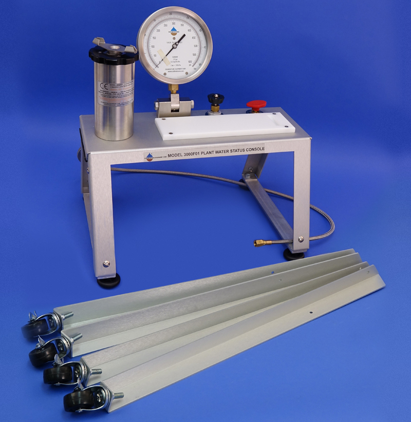 PLANT WATER STATUS CONSOLE, NO TANK (7 inch Pressure Vessel, G2 Specimen Holder, 80 Bar gauge)