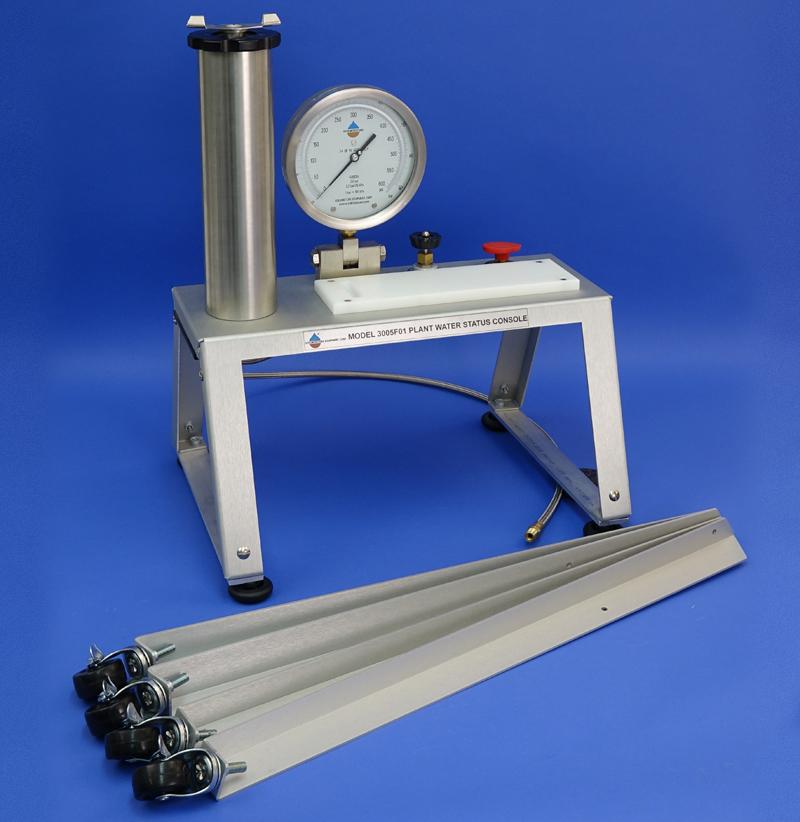 PLANT WATER STATUS CONSOLE, NO TANK (12in (30 cm) Pressure Vessel, G2 Specimen Holder, 40 Bar gauge)