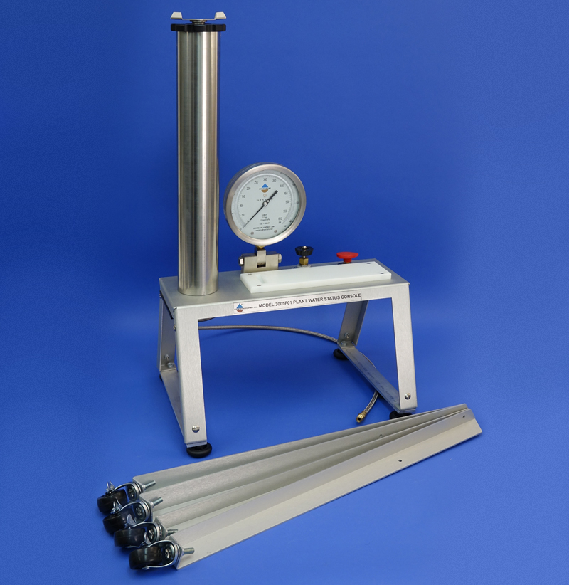 PLANT WATER STATUS CONSOLE, NO TANK (20 inch Pressure Vessel, G4 Specimen Holder, 40 Bar gauge)