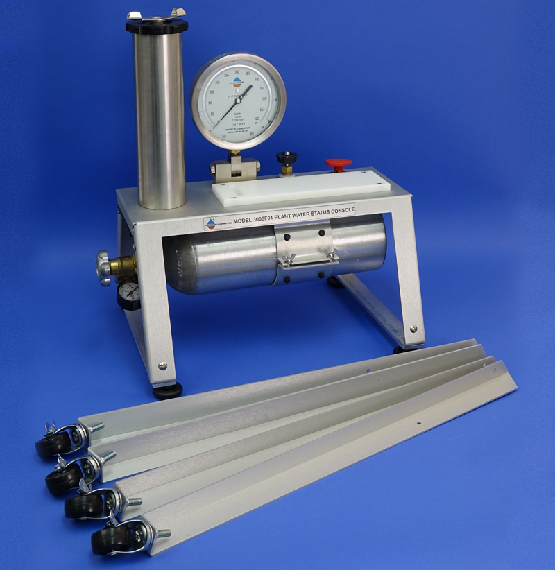 PLANT WATER STATUS CONSOLE, with TANK (12in (30 cm) Pressure Vessel, G2 Specimen Holder, 40 Bar gauge)