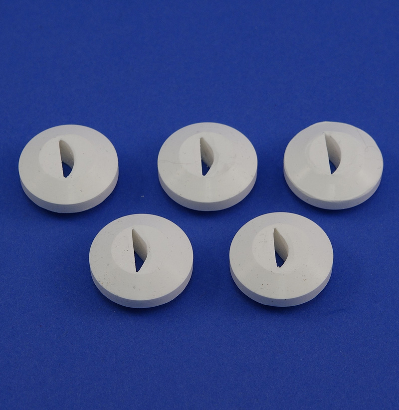 """G4 GROMMET,  1/8""""  WIDE BY 1/2""""  ARC,  5 PACK"""