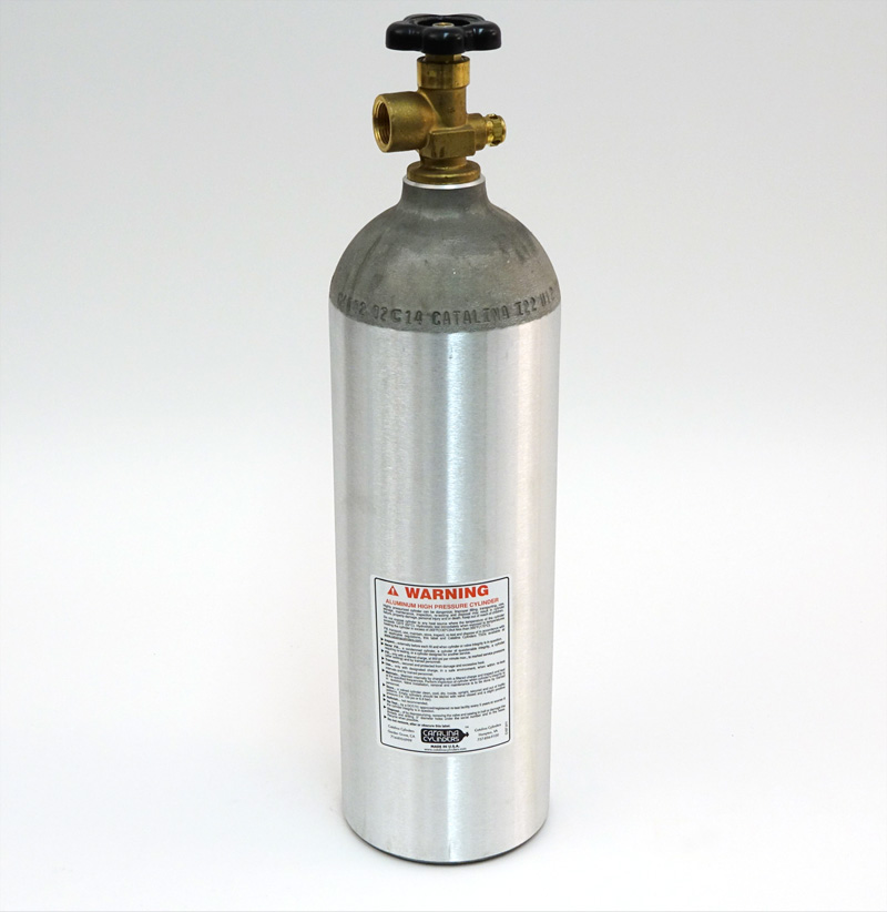 SAPS EXTERNAL GAS CYLINDER, 22 CU FT.