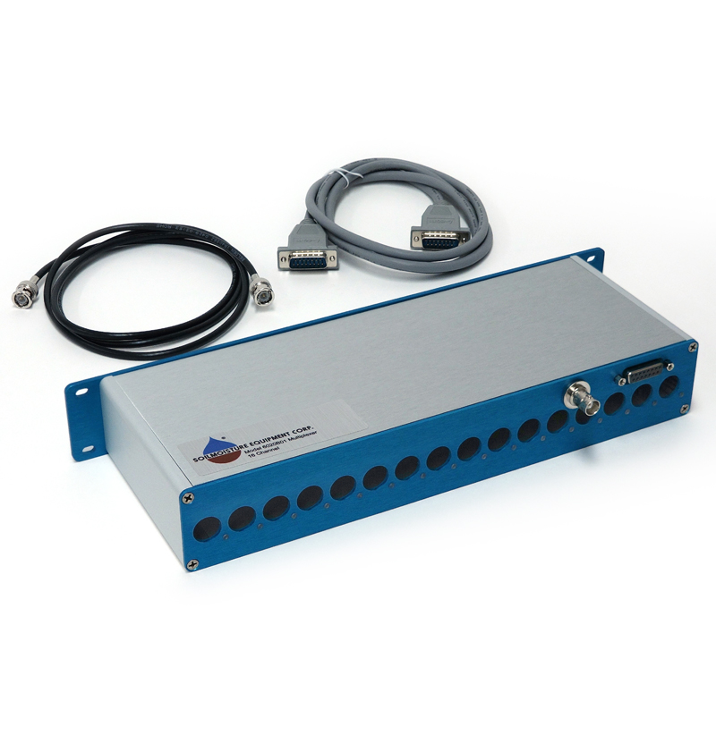 MULTIPLEXER RACK-MOUNT ENCLOSURE, HOLDS 1 16CH SWITCHING BOARD