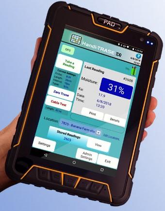 HandiTRASE TDR Soilmoisture Meter 0-100%