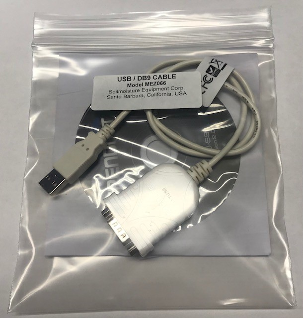 RS-232 serial to USB adaptor