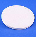 "POROUS CERAMIC PLATE, 11"" DIAM., 1 BAR HIGH FLOW"