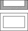 "CERAMIC TUB, 1"" X 2"" X 0.5"" OD (1.8 x 0.8 x 0.3"" ID) 1 BAR HIGH FLOW"
