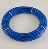 "BLUE POLYETHYLENE TUBING, 1/4"" O.D., 100 FT. ROLL"