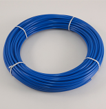 "BLUE POLYETHYLENE TUBING, 1/4"" O.D., 1000 FT. ROLL"