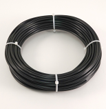 "BLACK POLYETHYLENE TUBING, 1/4"" O.D., 100 FT. ROLL"