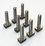 CLAMPING BOLT KIT, FOR 1500F2 EXTRACTOR, SET OF 8