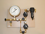 PRESSURE REGULATING SYSTEM (MANIFOLD) TO RUN 1500F2 EXTRACTOR