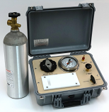 SAPS II PLANT WATER STATUS CONSOLE, 80 Bar Gauge, G2 Specimen Holder in carry case, 22 c/f tank (empty) included