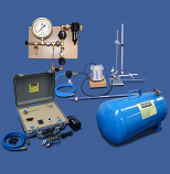 COMPLETE HYSTERESIS LAB SETUP W/ AUTOMATED ELECTRIC PRESSURE-VACUUM PUMP