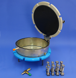 """PRESSURE MEMBRANE EXTRACTOR, with 1-7/8""""  CYLINDER RING"""