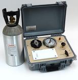 SAPS II PLANT WATER STATUS CONSOLE, 80 Bar Gauge, G4 Specimen Holder in carry case, 33 c/f tank (empty) included
